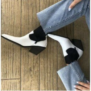 New Free People Jackson West Ankle Boot Po…
